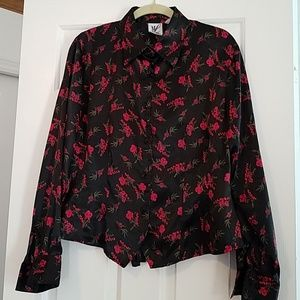 Ladies long sleeve blouse by Maggie Lawrence  sz L